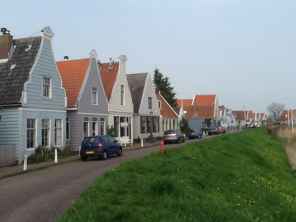 A nearby village (Durgerdam)