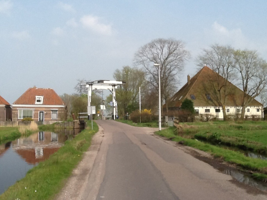 A nearby village (Ransdorp)