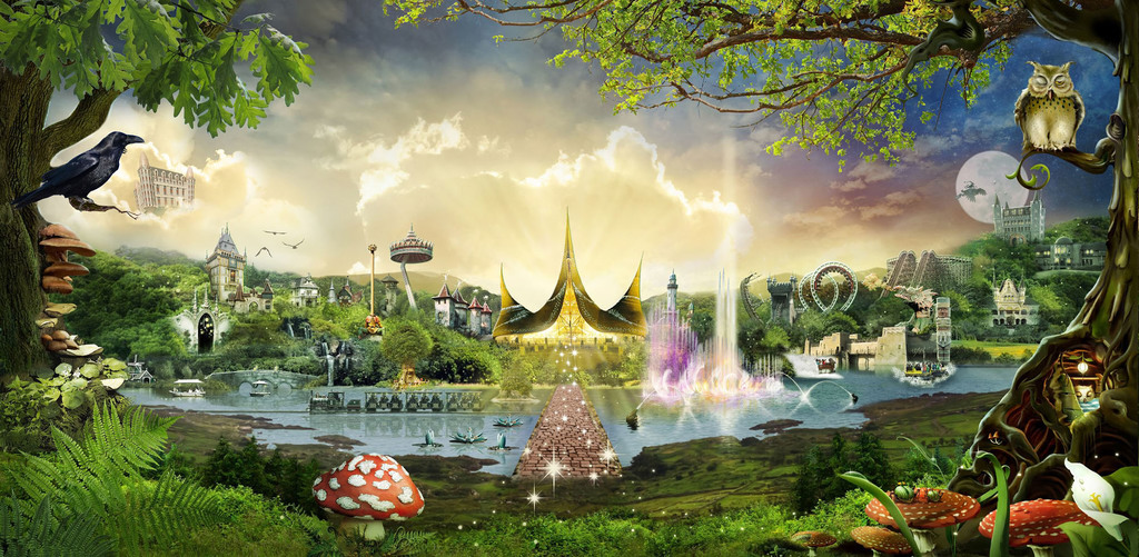 Theme park 'de Efteling'. For all ages.. (1 hour 15 min)
