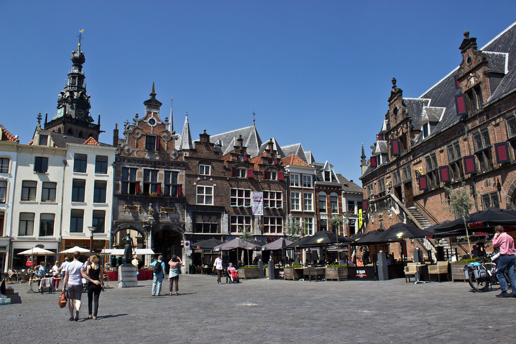 Nijmegen- the oldest city in the Netherlands- 15 minutes by car