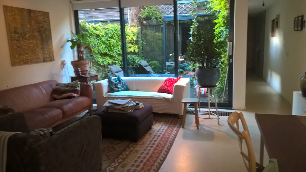 welcome in our cosy home, in a quiet street in Amsterdam