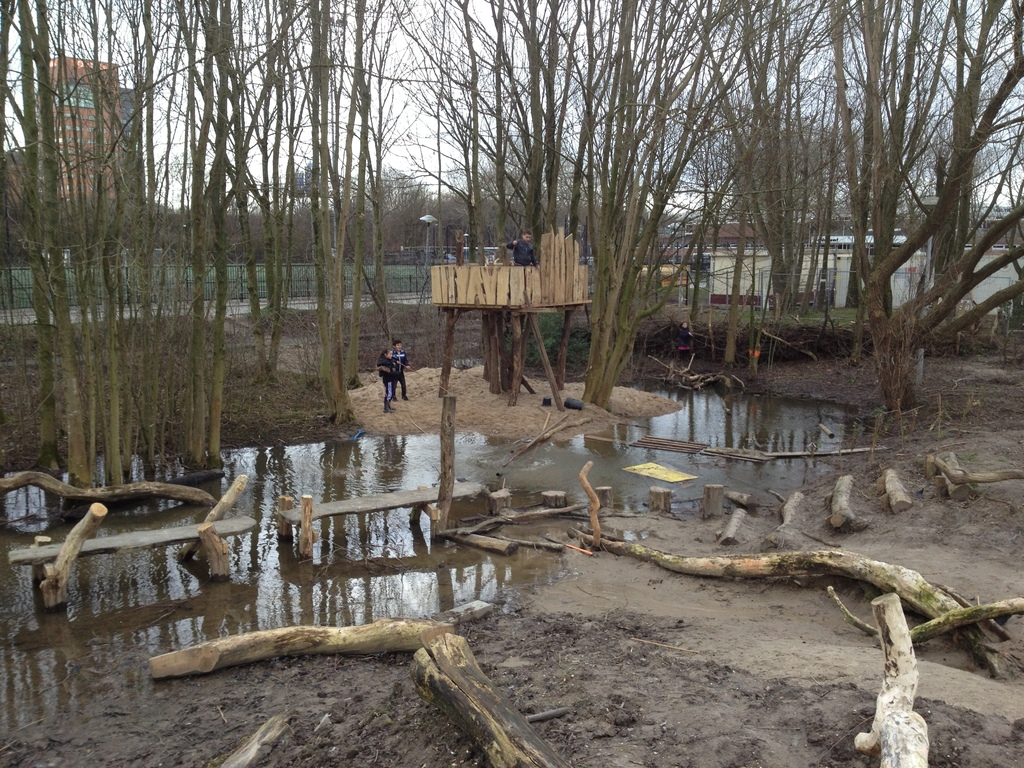 Nature play ground 'Kameleon (3 min walk) - fun with water, sand, wood, for kids 2 - 12 years! (separate safe sand box + wate...