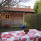 Garden - with sandpit and (not on this older photo) trampoline