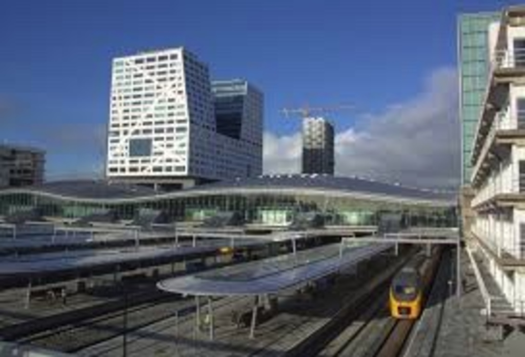 Railway station Utrecht, 14 minutes ride