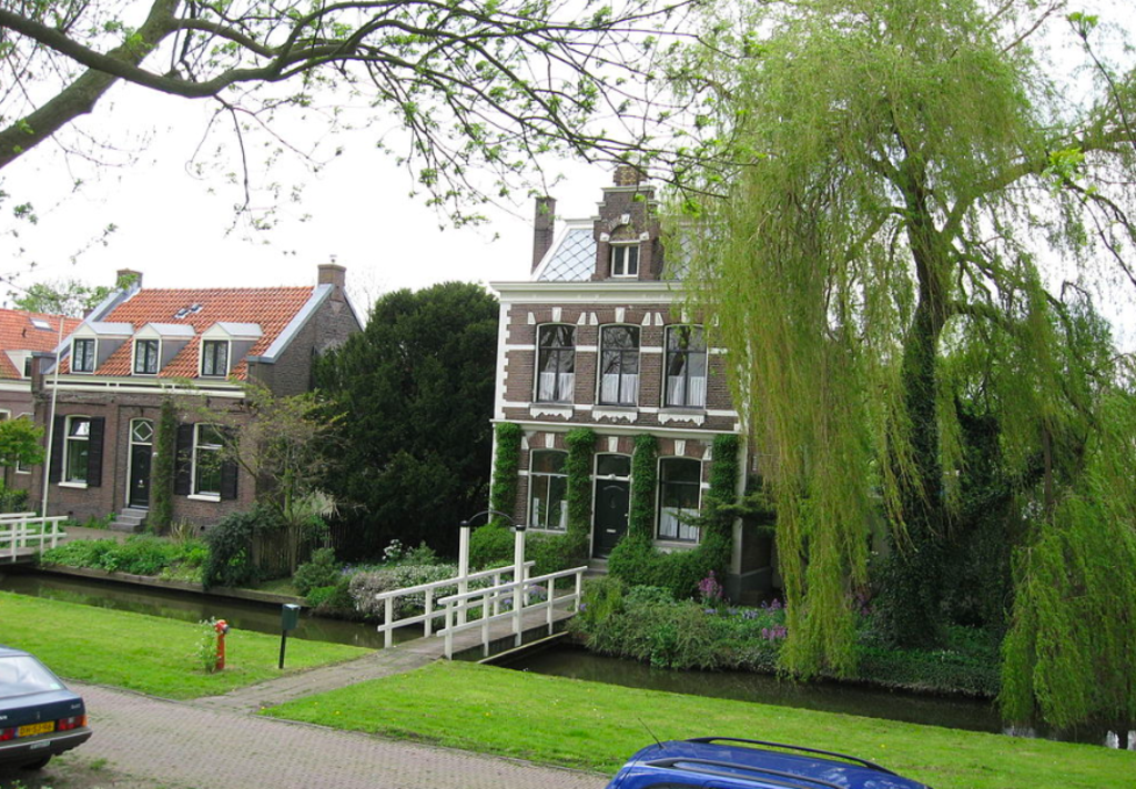 House in Schellingwoude (not ours :-))