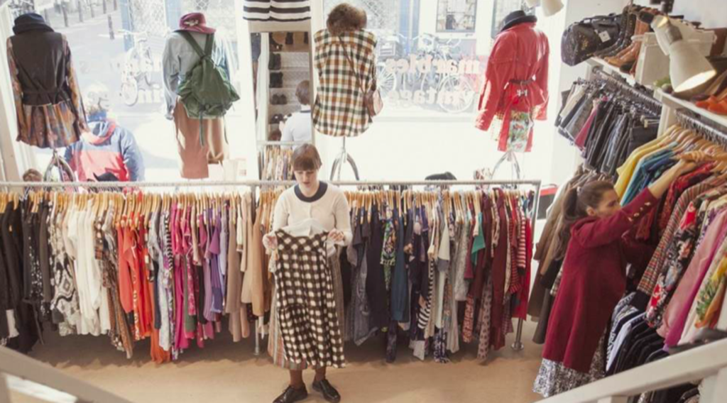 Go for vintage shopping in Amsterdam