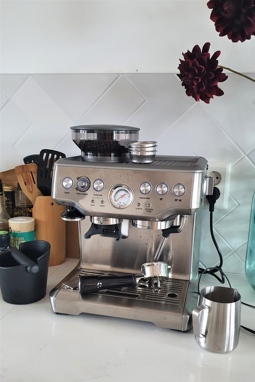 We love coffee! (therefore we have a good coffee machine)
