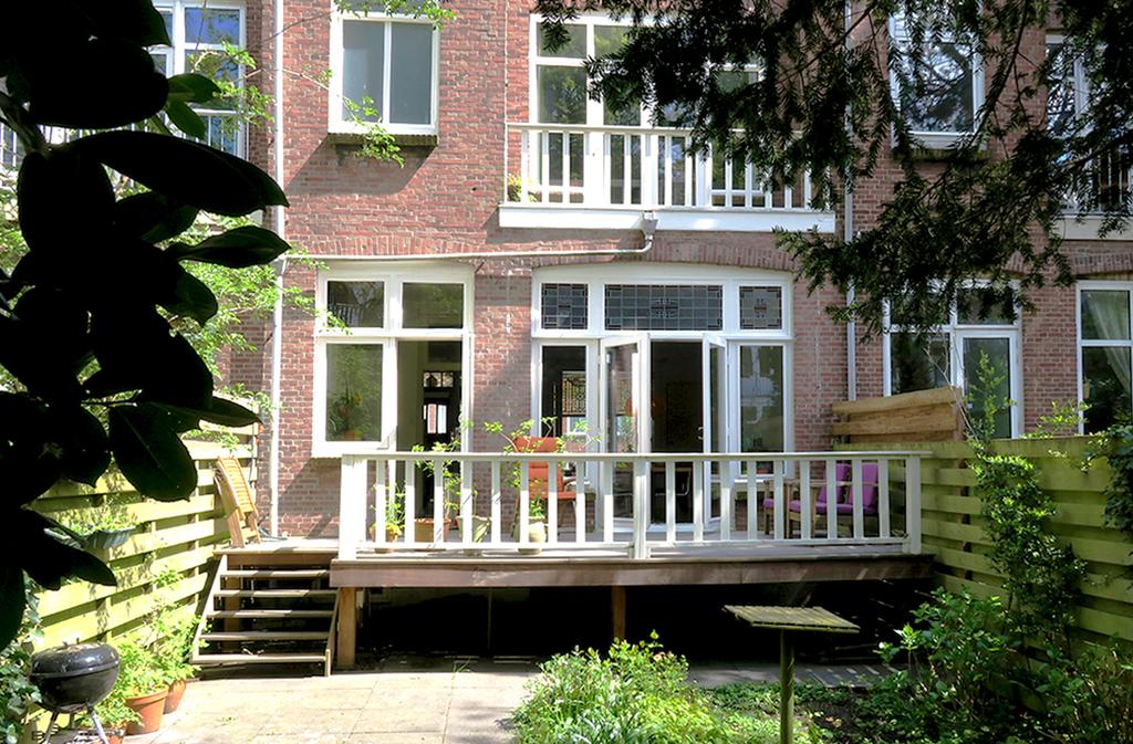 Backgarden with veranda