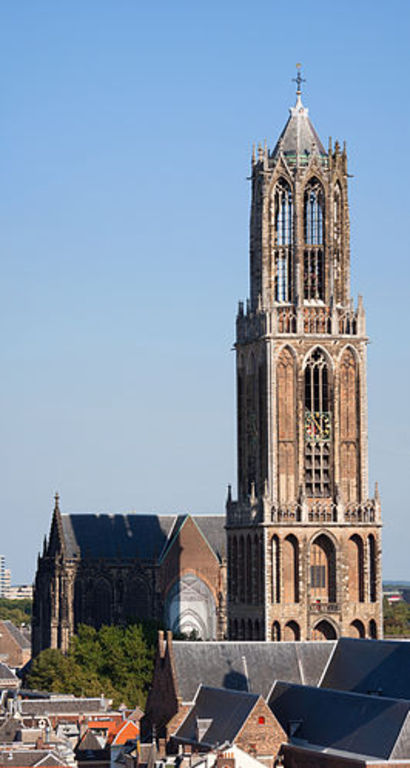 """Dom"" in Utrecht. The highest church tower in the Netherlands."