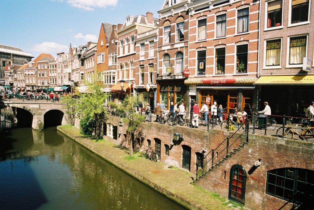 Utrecht, the city center.