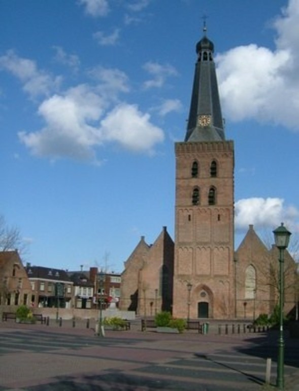 The old church of Barneveld. You can climb the tower.
