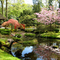 Japanese garden in Clingendael park