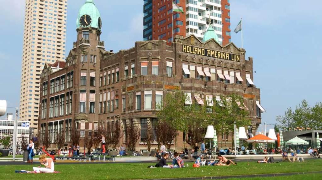 Hotel New York at Kop van Zuid