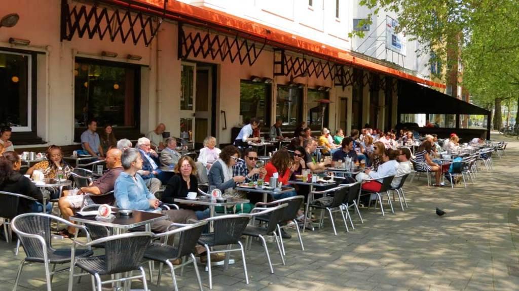 Local eetcafé Westerpaviljoen (food&drinks)