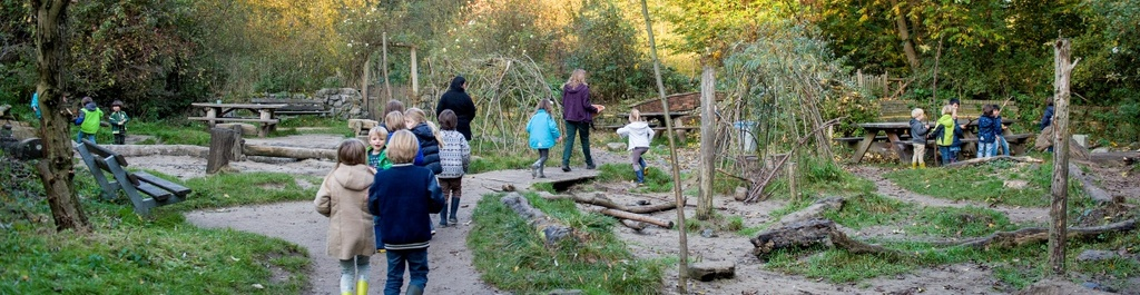 natural playground The Speeldernis (700m from our house)