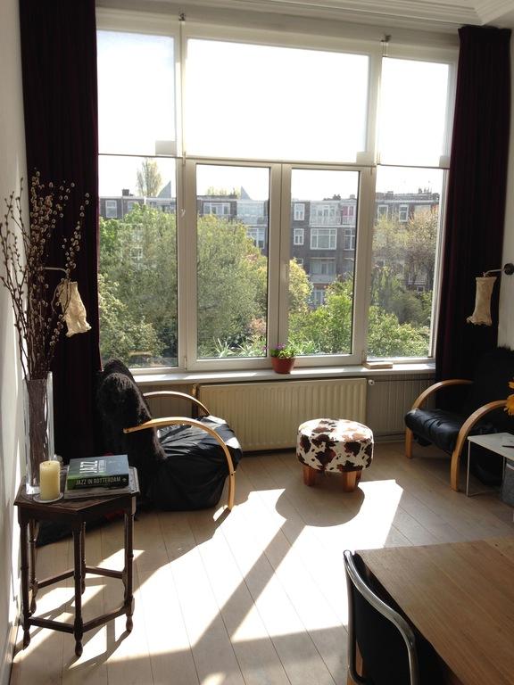 Dining room, sunny breakfast time
