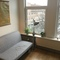 The couch in the guestroom easily transfers into a comfortable double bed