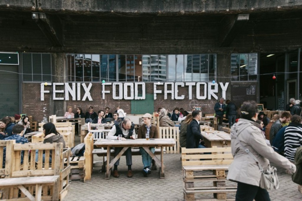 Local cheese, coffee and brewery Fenix Food Factory