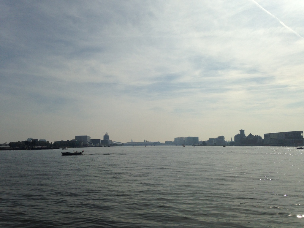View from Amsterdam Noord