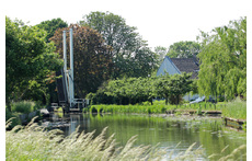 Baambrugge is situated on the river 'de Angstel'. Boats for rent in our town.