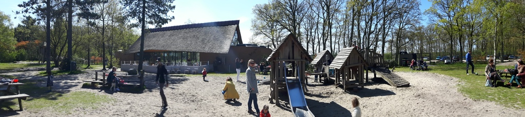 Heidezicht playground, 5 mns from our home, where you can drink coffee or wine while the kids play.