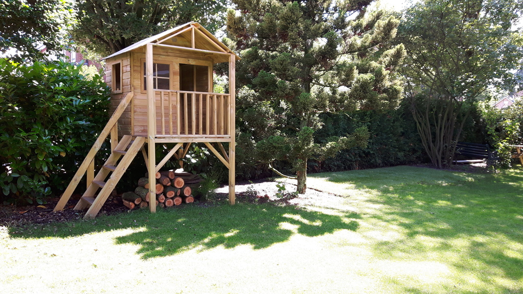 Playinghouse in the garden