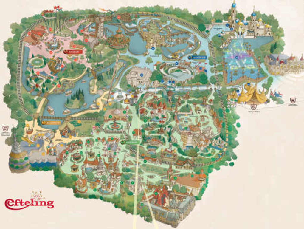 Efteling, the best amusement park ever full of fairytales. 1 hour drive.