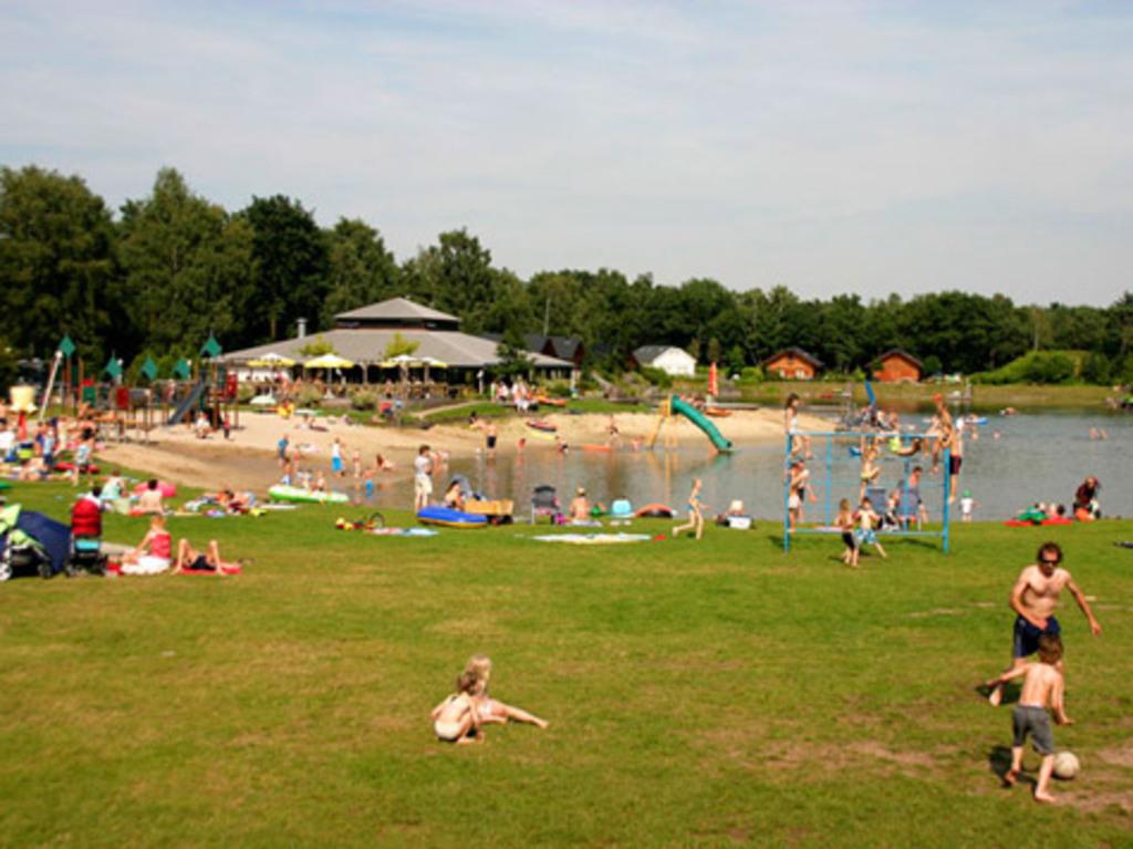 recreational lake, 1 km