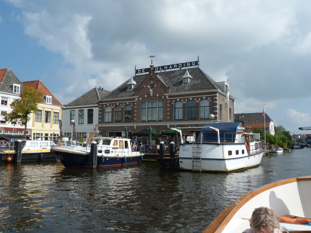 Leiden, seen from the canals