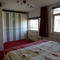 master bedroom with two seperate beds (100x210 each) electrically operable