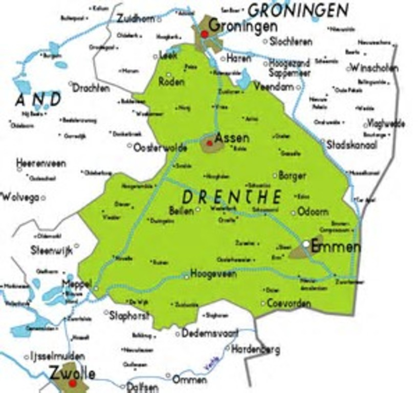 Drenthe, great for the historie of the ring forts.