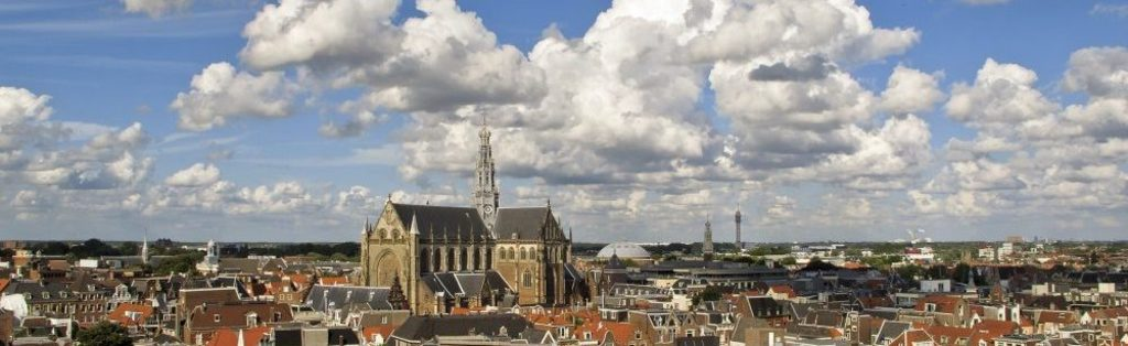 Skyline of Haarlem, the St Bavo.