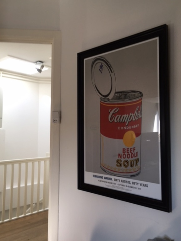 Pop Art by Andy Warhol in the house!