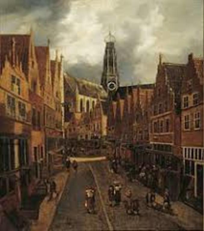 The Grote Houtstraat hardly changed...