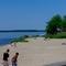 Beach of the lake.
