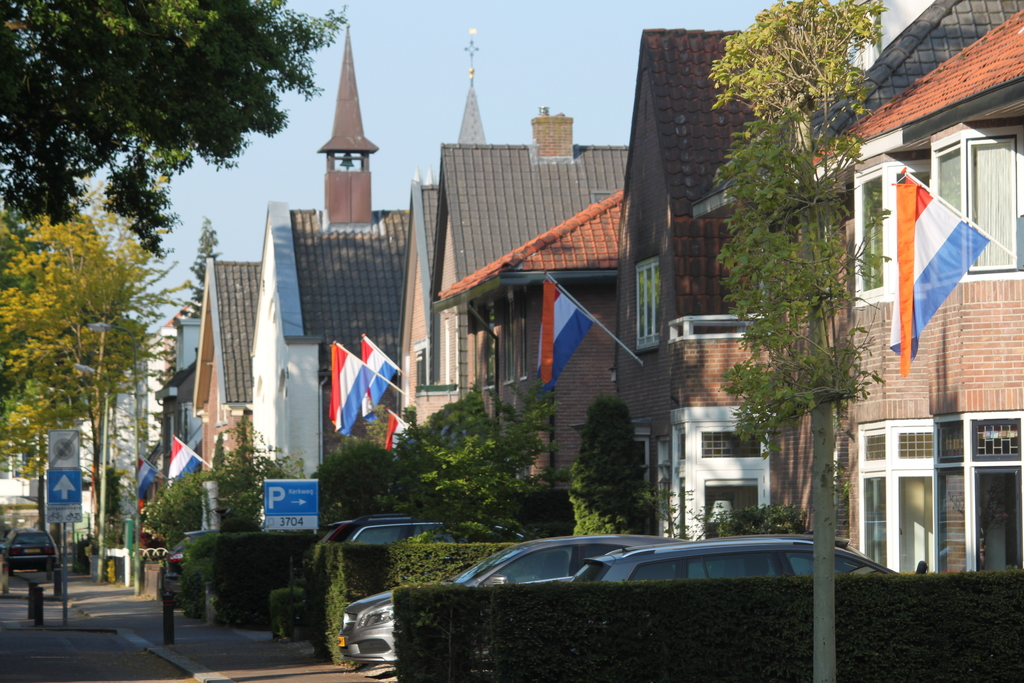 Kerkweg, Zeist on Kings Day 2020