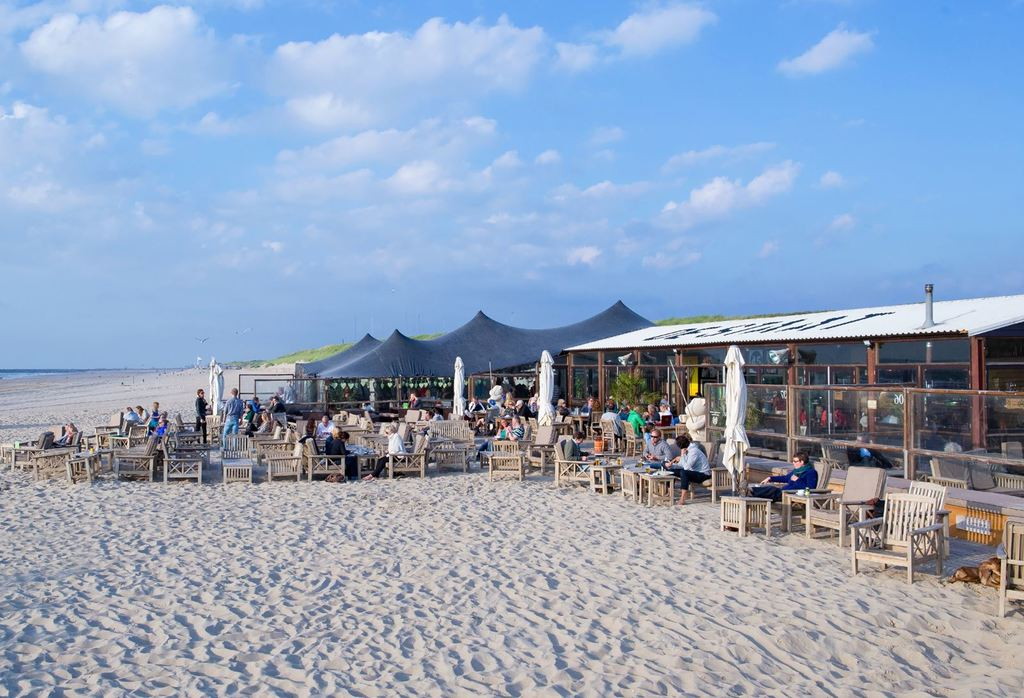 Our favorite beach, The zuiderstrand is 15 minutes by bike