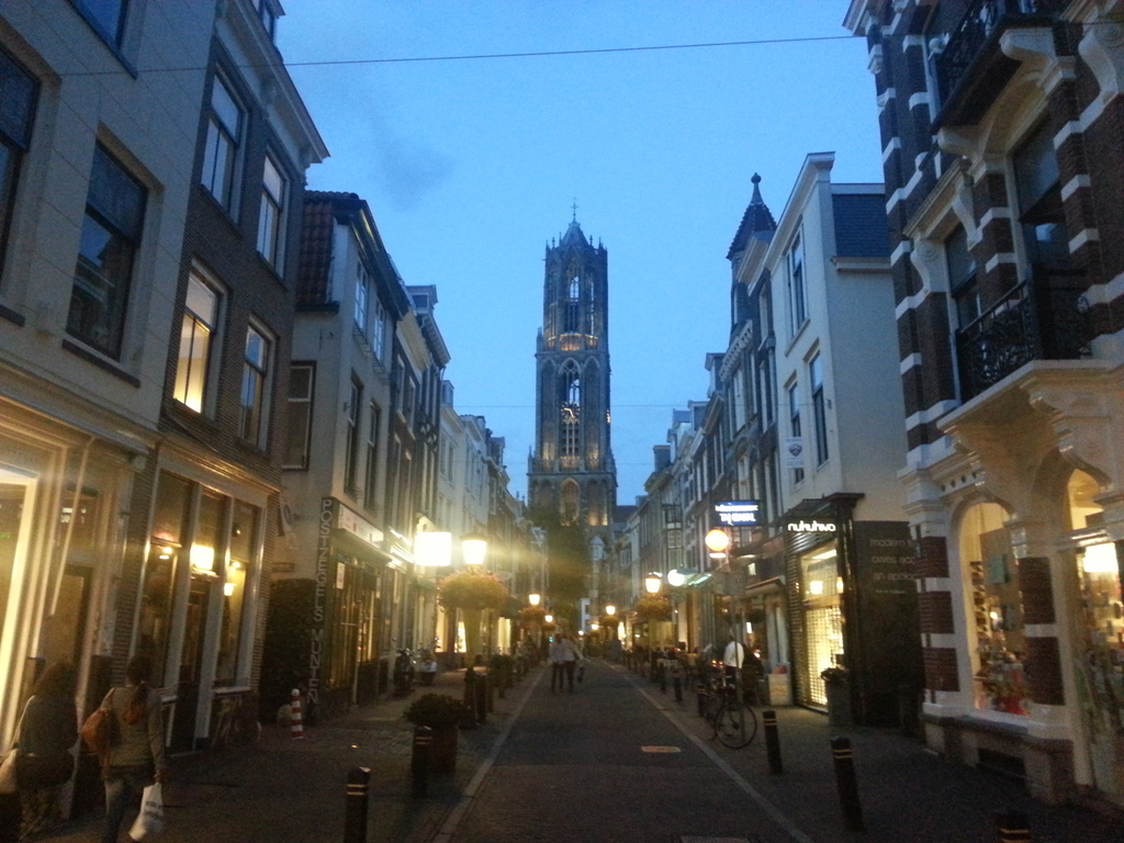 city of Utrecht (40 min)
