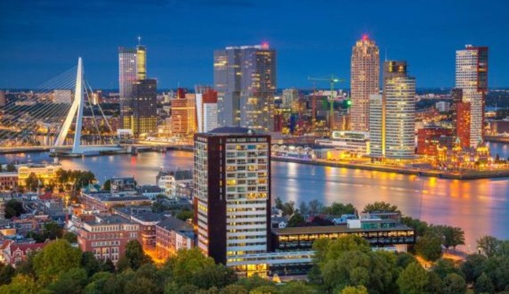Rotterdam - 1 hour away by car or train