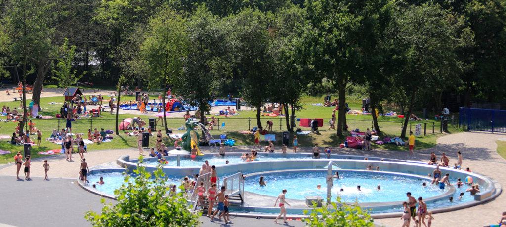 Zwembad Krommerijn buiten