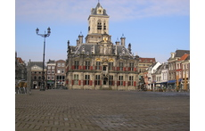 Delft Town Hall, 7 minutes walking from our home