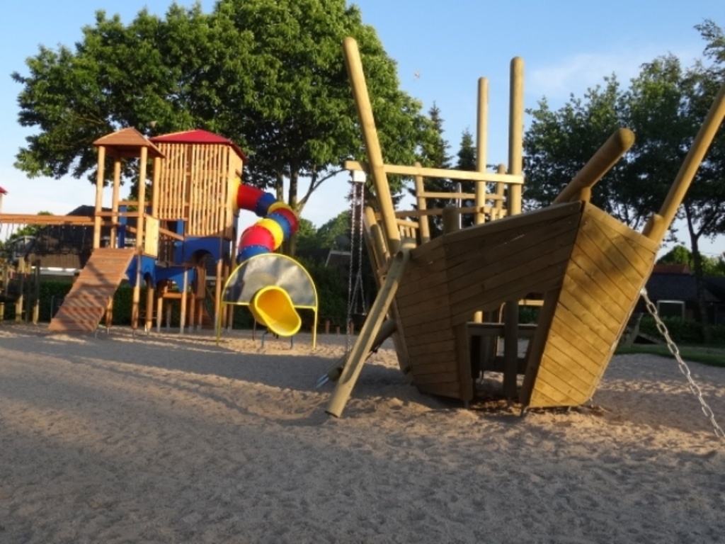 the playground in our neighbourhood that we often visit