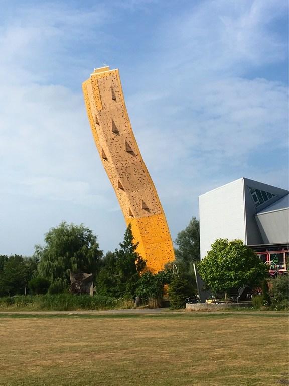 Climbing tower Bjoeks in Groningen