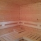 inside of our sauna