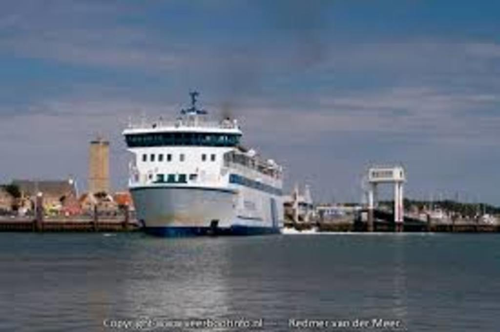 The Ferry. Goes to the eilands Terschelling or Vlieland