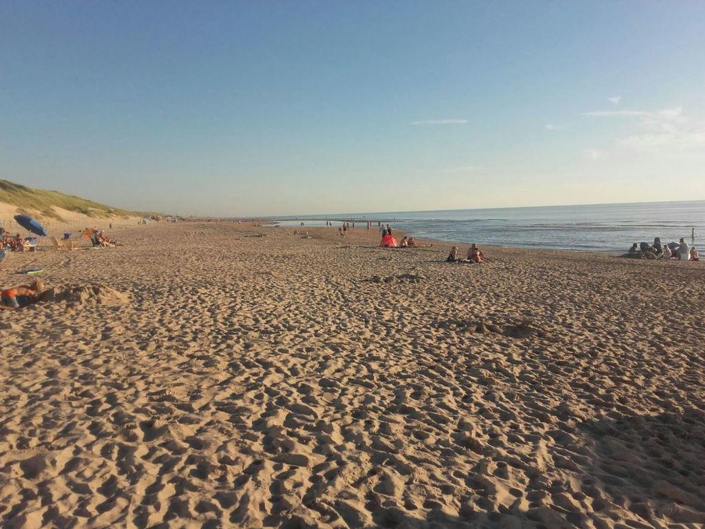The beach at Castricum
