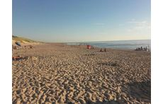 The beach at Castricum