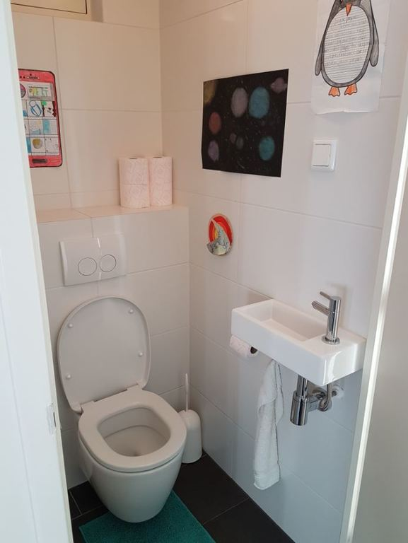toilet downstairs