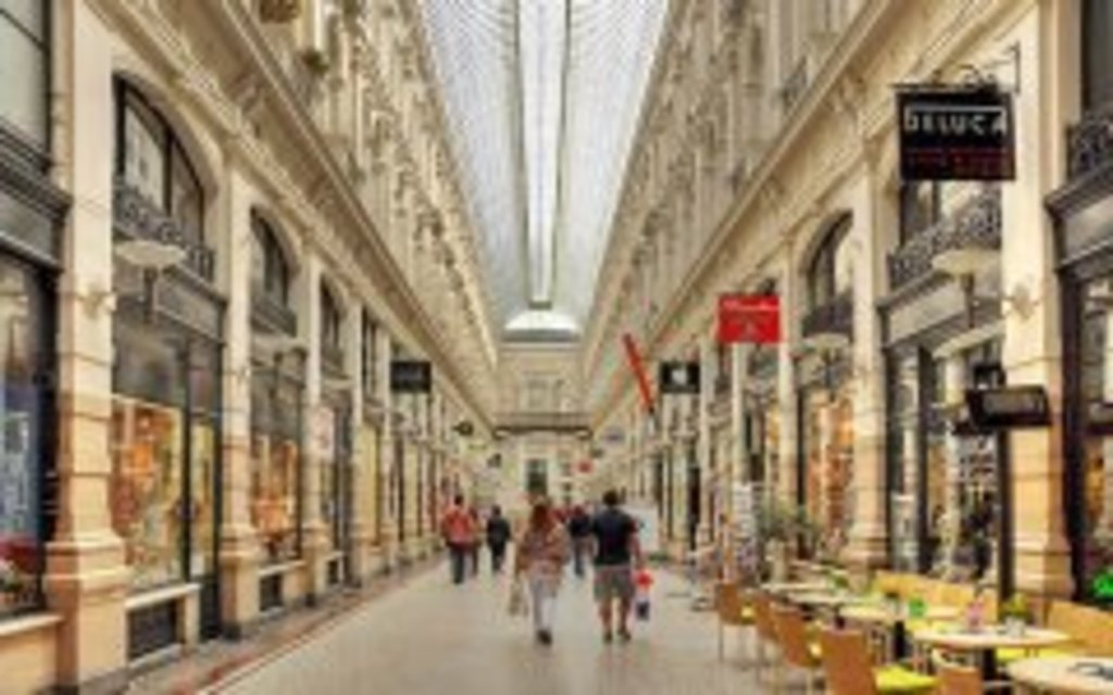 passage shopping arcade