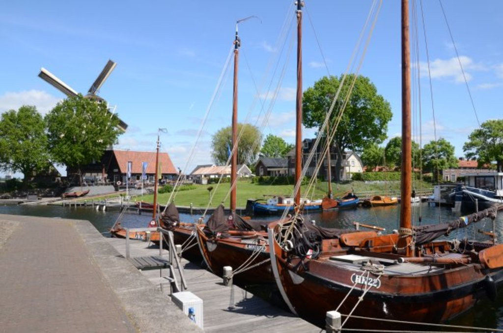the marina of Harderwijk